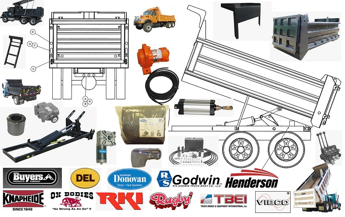 Dump Truck Parts Cherokee Truck Equipment Llc