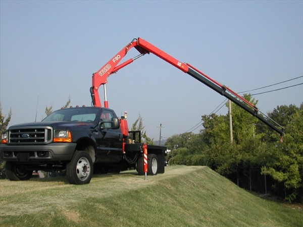 Small Knuckle Boom Crane : Truck mounted cranes a full line of telescoping