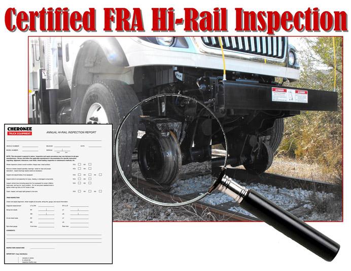 Hi-Rail Inspection Cherokee Truck Equipment, LLC