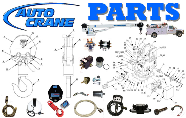 Your Source for OEM Auto Crane Parts Cherokee Truck Equipment, LLC