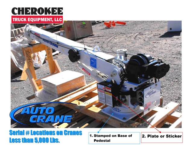Auto Crane Serial Location 1 how to find auto crane serial number cherokee truck equipment, llc auto crane 3203 wiring diagram at alyssarenee.co