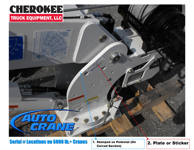 Auto Crane Serial Location 3 how to find auto crane serial number cherokee truck equipment, llc auto crane wiring diagram at alyssarenee.co
