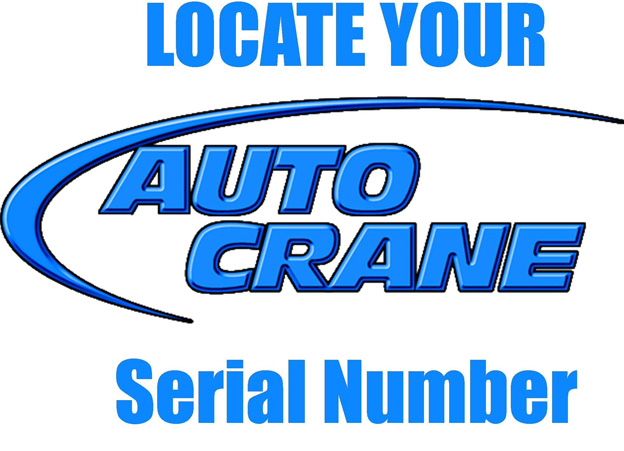 How To Find Auto Crane Serial Number Cherokee Truck Equipment  Llc