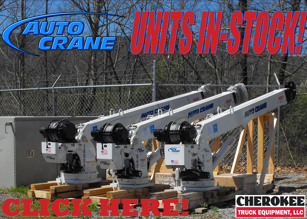 Auto Crane Pinnacle Plus Dealer Offering Cranes Bodies Parts More Cherokee Truck Equipment Llc