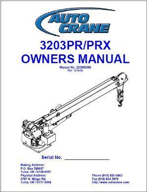 Truck Cranes Auto Crane Decal 3203 Load Chart Tools & Equipment
