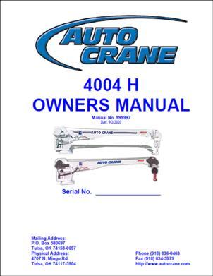 2403PRX 5005H 4-Function Pendant Cover 4004EH 3203PRX Auto Crane 631601000