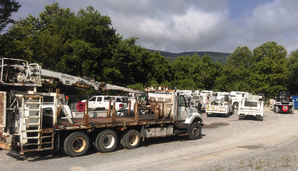 Used Railroad Trucks Readily Available! Cherokee Truck Equipment, LLC