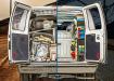 Dirty van to a clean van.
